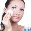 Stockfoto: Remove make-up