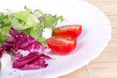 プレート上のサラダ — ストック写真