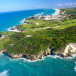 Stock Photo: DominicRepublic from helicopter view