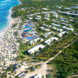 Stock Photo: Caribberesort from helicopter view
