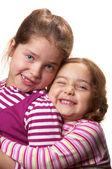 Two sisters — Fotografia Stock