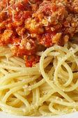 Spaghetti a la Bolognese — Stock Photo