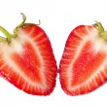 Sliced strawberry — Stock Photo #3266636