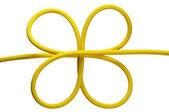 Yellow knot — Stock Photo