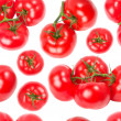 Tomatoes seamless wallpaper — Stock Photo
