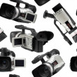 Camcorders seamless wallpaper — Stock Photo #3394890