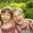 Two little girls — Stock Photo #3700846