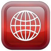 Globe sign — Стоковое фото