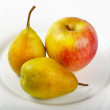 Pears and apple — Stock Photo #3883693