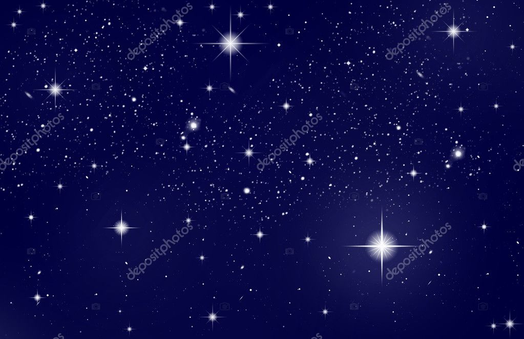 Night Sky with Stars — Stock Photo #2908903