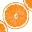 Fresh oranges halves - Stock Photo