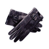 Black gloves — Stock Photo