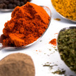 Various ground spices - Foto Stock