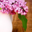 Lilac blooms - Stock Photo