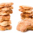 Stacks of cookies - Stock Photo