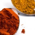 Ground spices — Stock Photo