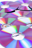 DVD's — Stock Photo