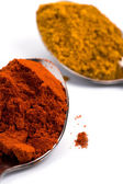 Ground spices — Stock Photo