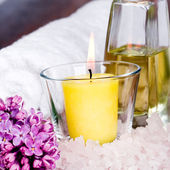 Bath and spa items — Stock Photo