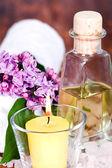 Bath and spa item — Stock Photo
