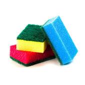 Three sponges — Stock Photo
