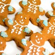Gingerbread men — Stock Photo #3758354