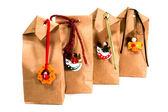 Bolsas de regalo marrón — Foto de Stock