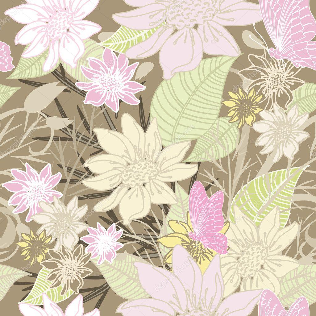 illustration soft floral - photo #16