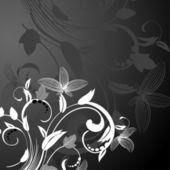 Pozadí abstraktní květinovým vzorem — Stock vektor