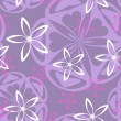 Seamless floral background — Vetorial Stock #2825340