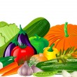 Vegetables — Vector de stock #2970625