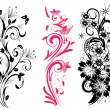 Set of different patterns — Stock Vector