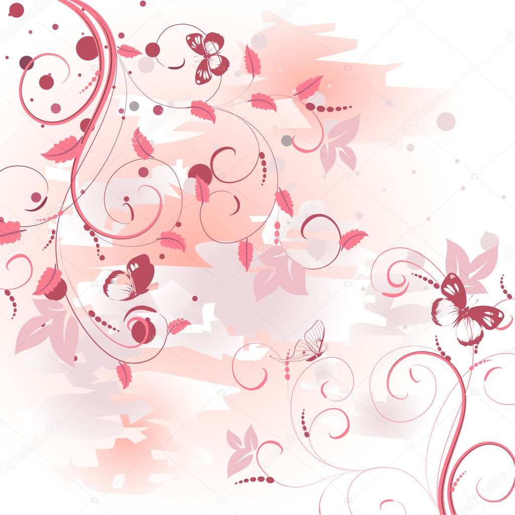 Pattern pink dawn  Imagen vectorial #3234451