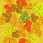 Background seamless autumn — Stock Vector