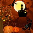 Halloween — Vector de stock #3710466