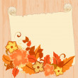 Stock Vector: Autumn Greetings