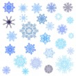 Snowflakes set — Stock Vector #3760880