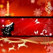 Set of New Year — Stock Vector