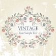 Stock vektor: Vintage background