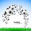 Royalty-Free Stock Vector Image: Football background