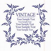 Fundo do vintage — Vetorial Stock