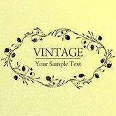 Fundo do vintage — Vetor de Stock
