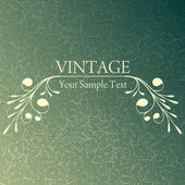 Vintage background — Stock Vector