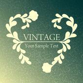 Vintage background — Stock Vector