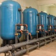 Water purification filter equipment - Foto Stock