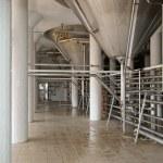 Industrial plant workshop interior — Stock Photo