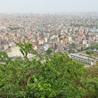 Stock Photo: Kathmandu city view, nepal