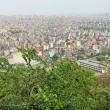 Kathmandu city view, nepal - Stock Photo