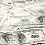 Many US 100 dollars, business background — Stock Photo #3147318