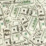 Many US 100 dollars, business background — Stock Photo #3185094